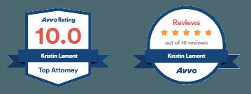 Avvo Rating for Kristin LaMont